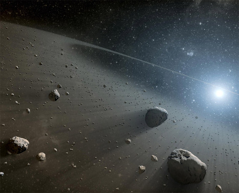 Massive Asteroid Belts Discovered Around Vega : Discovery News | The Cosmos | Scoop.it