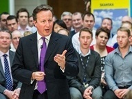 Prime minister David Cameron demands support for National Infrastructure Plan