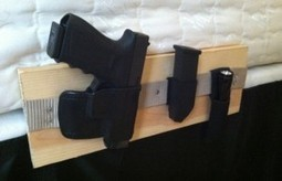 How To Make A Bedside Gun Holster | survivalists and preppers | Scoop.it