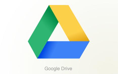 Google Drive, pour favoriser les travaux d'équipe en ligne - Actu@liTIC   TIC et TICE mais... en français   Scoop.it