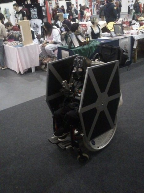 The Geekiest Wheelchair of All Time | Geek out | Scoop.it