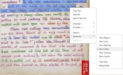Grabbing Text from Images with Project Naptha | Zentrum für multimediales Lehren und Lernen (LLZ) | Scoop.it
