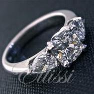 Cushion Cut Diamond Rings from jewellery designers Ellissi in Australia | jewellery designers | Scoop.it