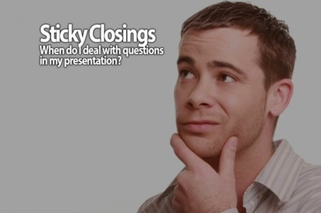 Sticky Closings - The most common failure in PowerPoint presentations | Public Speaker Know-How: From the San Diego Speakers Guild | Scoop.it