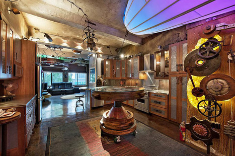 A Perfect Apartment For Steampunk Fans | Creative Scoops | steampunk | Scoop.it