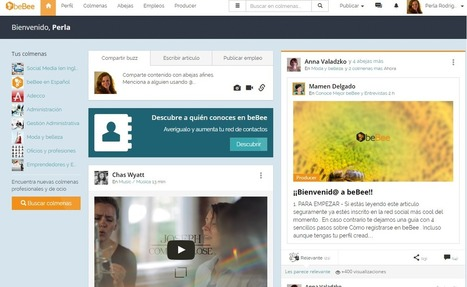 ¿Fiel a Linkedin? Entonces no has conocido Bebee | Social Media | Scoop.it