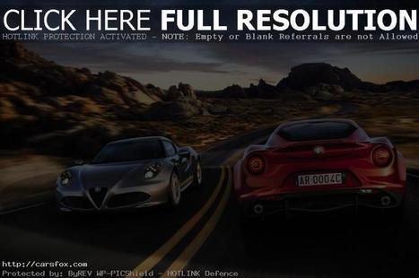 2014 Alfa Romeo 4C Review   CARS FOX   home design   Scoop.it