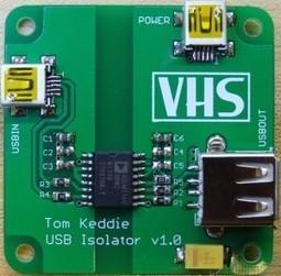 Simple USB Isolator | DIY Everything | Scoop.it