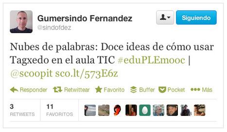 Educación + PLE + MOOC = #eduPLEmooc ...¡Empezamos! | Educación | Scoop.it