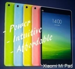 Xiaomi MiPad Tablet - Mi Pad with MIUI interface | Home & Garden | Scoop.it