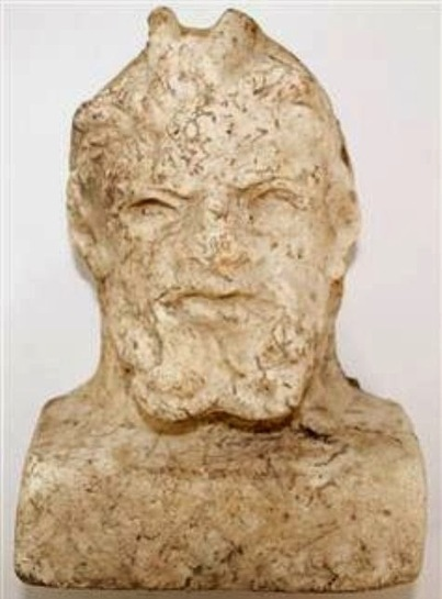 Marble bust of a Pan found in Samsun | some anthropology + found in translation | Scoop.it