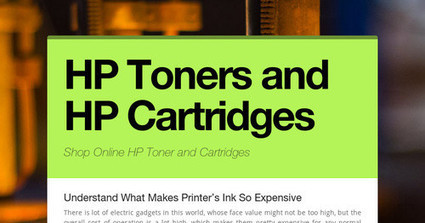 HP Toners and HP Cartridges | Compatible HP Cartridges | Scoop.it