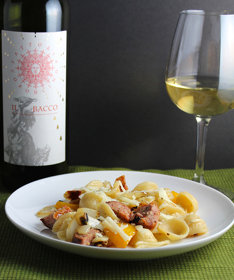 Orecchiette and Grilled Sausage with a Verdicchio | Le Marche and Food | Scoop.it
