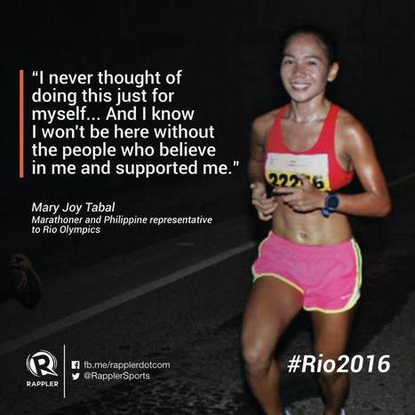 Rio Olympic Wrap up: Mary Joy Tabal 124th in Womens Marathon - Pinoyathletics.info | Philippines Track and Field | Scoop.it