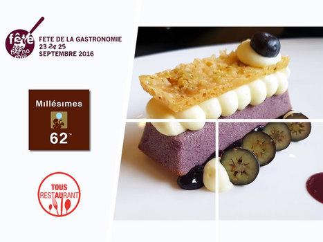 Millésimes 62, Fêtons ensemble la gastronomie ! | RESTOPARTNER : des restaurants  de qualités à Paris - France | Scoop.it