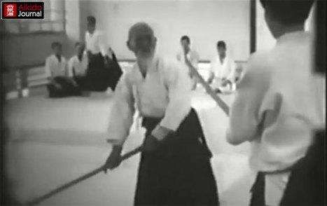 Ken to the end! Morihei Ueshiba demonstrating Aiki Ken at Aikikai Hombu Dojo in 1968 — Part 2 | Aikido | Scoop.it