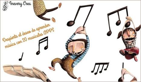 Despierta el deseo de aprender música con estas 20 musicales Apps - Inevery Crea | ARTE, ARTISTAS E INNOVACIÓN TECNOLÓGICA | Scoop.it