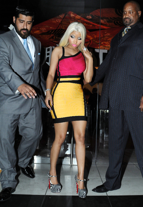 Violent clash entre Nicki Minaj et une journaliste | Africa Presse - actualite en continu | Scoop.it