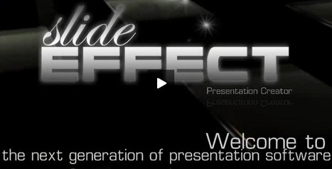 Slide Effect: Create Spectacular Presentations | Aprendiendoaenseñar | Scoop.it
