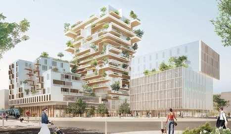 Bordeaux lance Hypérion et Silva, deux tours en bois de 50 mètres   construction bois et reglementation thermique RT 2012-2020   Scoop.it