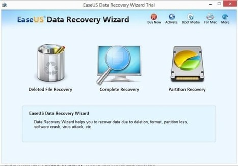 EaseUs Data Recovery Wizard: un efficiente software per il recupero dei dati | recupero dati | Scoop.it