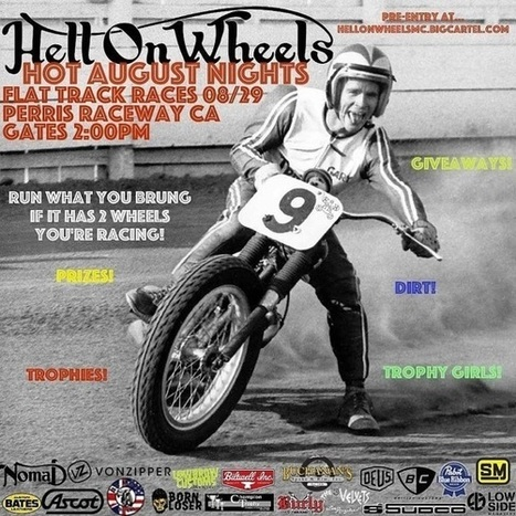 Hell On Wheels Event This Hot August Saturday Night! | California Flat Track Association (CFTA) | Scoop.it