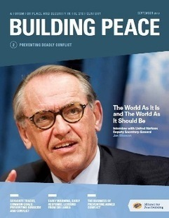 Discover Building Peace Issue 2: Preventing Deadly Conflict   PeaceBuilding   Scoop.it