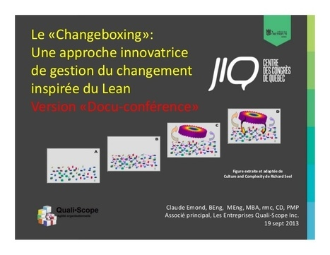 Le « Changeboxing » : Une approche innovatrice ... | Homo Agilis (Collective Intelligence, Agility and Sustainability : The Future is already here) | Scoop.it