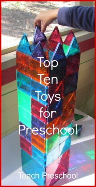 Top ten toys for the preschool classroom | The Benefits of Play-Based Learning  -- Play, Passion, Purpose | Scoop.it