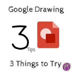 3 Things to Try in Google Drawing - via @AliceKeeler | Tech for teachers | Scoop.it