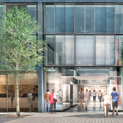Plans approved for Rogers Stirk Harbour + Partners gallery arcade in Mayfair - Dezeen | Architecture and Architectural Jobs | Scoop.it