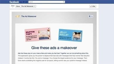 Dove bids to banish negative Facebook ads | News | Marketing Week | BEAUTY + SOCIAL MEDIA | Scoop.it
