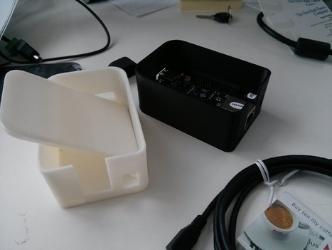 Taller version of Beaglebone Black enclosure by ... - Thingiverse | Raspberry Pi | Scoop.it