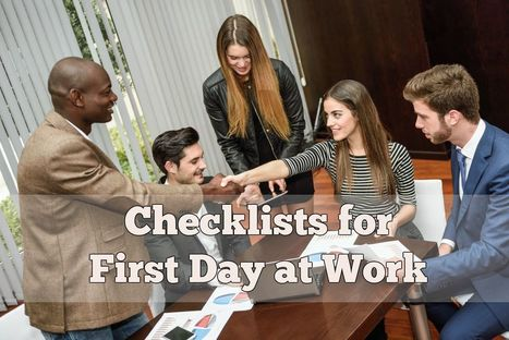 First Day at Work? Tips To Avoid Some Common Mistakes | Latest Career News & Advice | Scoop.it