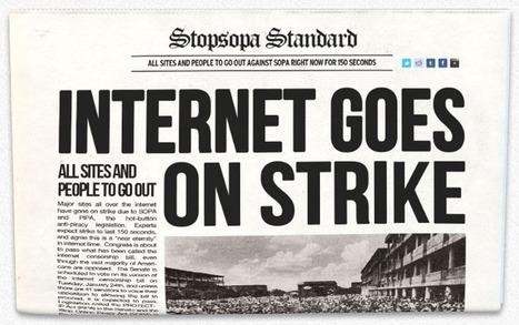 Strike Against Sopa! 18 Jan 2011 | Prionomy | Scoop.it