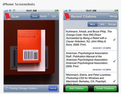 EasyBib: app sencilla para la gestión de referencias bibliográficas | Web y Herramientas Sociales | Scoop.it