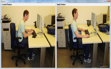 Researchers develop webcam tool to improve posture of office workers | KurzweilAI | Augmented Reality & The Internet of Beings + Things | Scoop.it