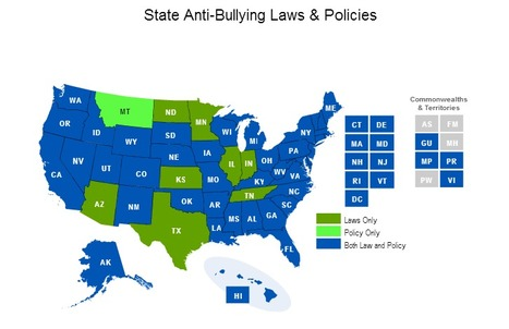Anti-Bullying - What are the laws and policies in your state? | Bullying & Relational Aggression | Scoop.it