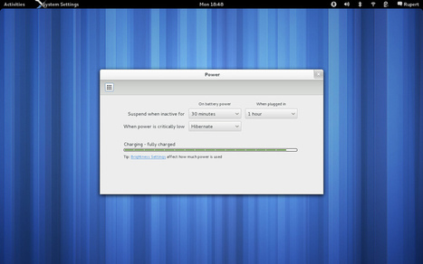 GNOME 3.4 disponible   Time to Learn   Scoop.it