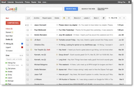 Google Apps gets Google's updated Gmail, Calendar and Google Docs | Social Media Updates | Scoop.it
