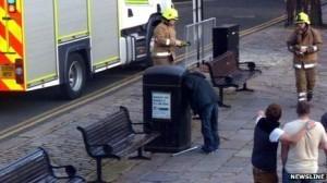 #IdiotDuJour : il coince sa tête dans une poubelle et est sauvé par les pompiers   L'Idiot Du Jour   Scoop.it