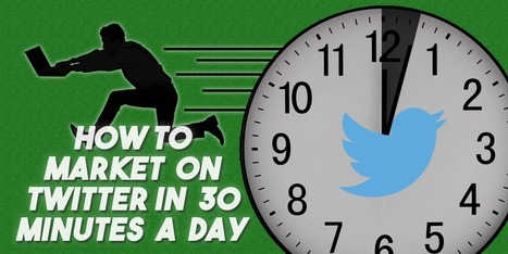 How to Market on Twitter in 30 Minutes a Day | AtDotCom Social media | Scoop.it