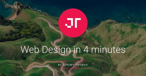 Web Design in 4 minutes   Outils cartographiques   Scoop.it
