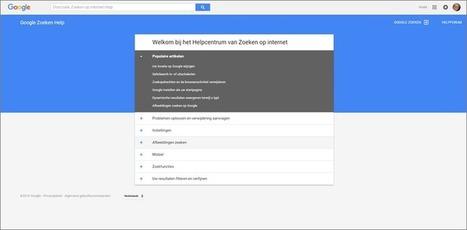 Edu-Curator: Handig! Google Zoeken Help: 'Helpcentrum van Zoeken op internet' | Patu | Scoop.it