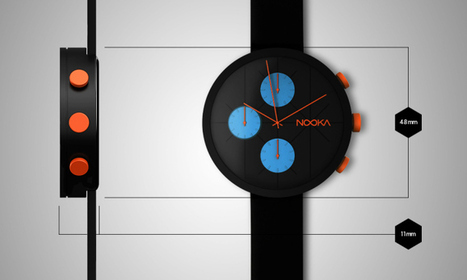 Nooka Watches Crowdfunds A Cool New Custom Chronograph | Tendencias tecnológicas | Scoop.it