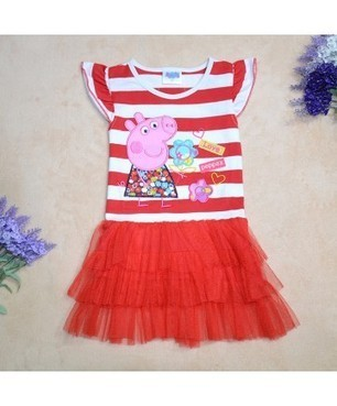 Cute Striped Candy Children Girls' Summer Cake Dress | Clothing at SMA-STAR | Scoop.it