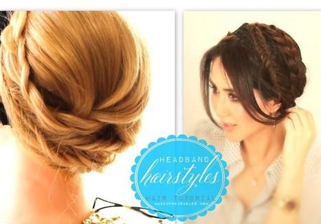 Crown Braid for Long Hair Tutorial Video | Casual Headband Hairstyles | Cute hairstyles hair tutorial videos | Scoop.it
