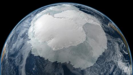 El gigantesco tamaño de la Antártida, visto desde el espacio. | Reflejos | Scoop.it