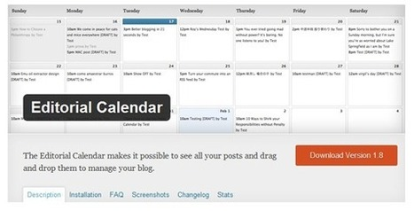 How to Create a Successful Editorial Calendar - Unbounce | pdxtech-info | Scoop.it