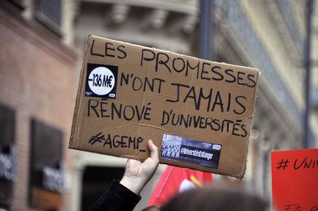 Budget des universités: la ponction de 100millions d'euros ne sera pas renouvelée en2016 | Enseignement Supérieur et Recherche en France | Scoop.it